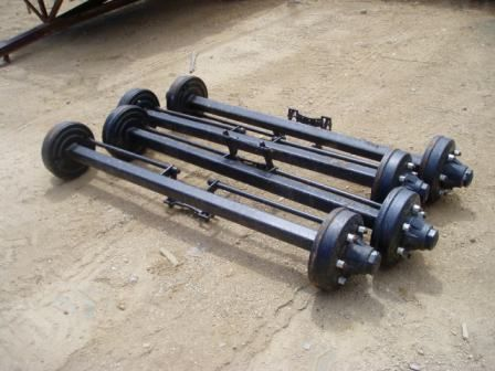 6 Stud Trailer Axles