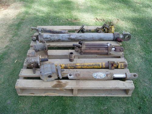 Hyd Rams + Pump