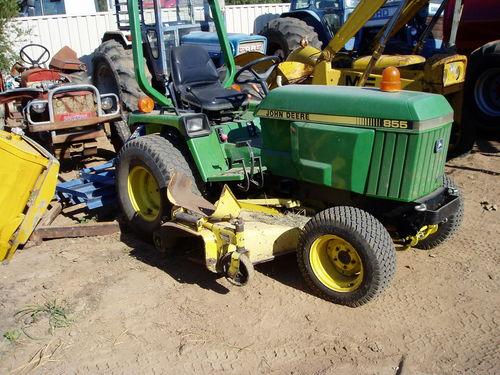 John Deere Mower Tractor