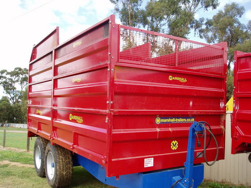 Marshall   S10 Drop Side CW Silage Sides