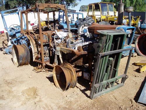 NH 75V CW Hustler Forklift