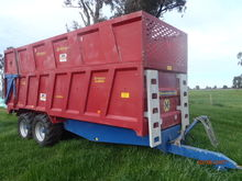 14T Silage trailer on oversize wheels Ex Hire
