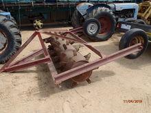 Ballasted pasture renovator ex hire