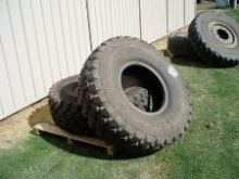 Ex Army Tyres