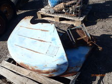 Fordson Major Mudgurads + Seat