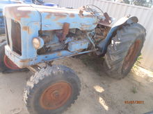 Fordson Major Petrol-Kero both front grills are complete