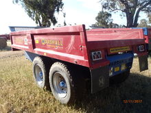 HYD Dump Trailer 6/12/16 ton from