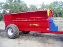 Muckspreaders - Marshall MS 105 Muckspreader