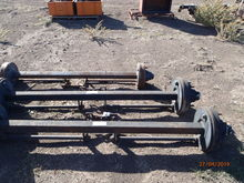 New Trailer Axles