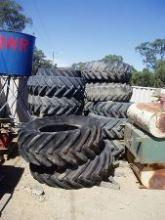 Tractor Wheels + Tyres